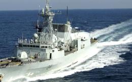 Chiến hạm của quốc gia nào vừa đi qua eo biển Đài Loan?