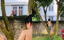 """Rò rỉ nhà vườn của Xuân Hinh qua bức ảnh """"chụp trộm"""" từ đồng nghiệp"""