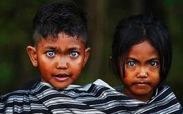 Bộ tộc kỳ bí ở Indonesia với đôi mắt xanh biếc như màu trời, nguyên nhân là do hội chứng lạ mà người ở đây mắc phải