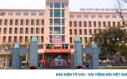 HV Báo chí & Tuyên truyền công bố điểm trúng tuyển của 39 chuyên ngành