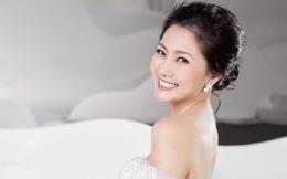 Ngọc Lan xinh đẹp rạng rỡ khi hóa thân cô dâu bầu trình diễn váy cưới