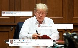 """Nằm viện nhưng không im lặng; TT Trump gây bão với loạt tweet kêu gọi cử tri """"ĐI BẦU, ĐI BẦU, ĐI BẦU!"""""""
