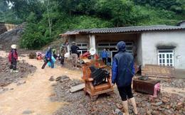 Nhà cửa bị nước cuốn trôi, đưa thi thể bé 3 tuổi từ Lào Cai về Phú Thọ mai táng