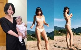 Cựu hot girl Mi Vân khoe vóc dáng nóng bỏng sau khi giảm 22kg
