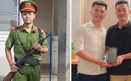 Chiến sĩ Công an nghĩa vụ thủ khoa toàn quốc được thầy giáo vượt 1600 km đến tận nơi tặng iPhone 11 Pro Max