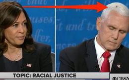 """Tranh luận Pence-Harris: Sinh vật nhỏ bé gây bão MXH khi vô tư """"hạ cánh"""" nơi mái tóc bạc của ông Pence"""