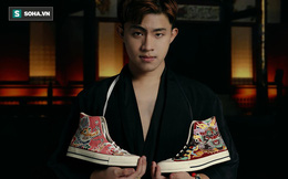 Mua giày Converse nổi tiếng của nước ngoài, vẽ thêm hoa văn Việt Nam, chàng trai bán giá 15 triệu đồng/đôi