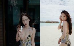 Nữ hoàng giải trí Thái Lan khoe thân hình nóng bỏng ở tuổi tứ tuần