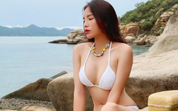 Hoa hậu Kỳ Duyên lại tung ảnh bikini gợi cảm