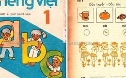 Sách giáo khoa Tiếng Việt 30 năm trước bỗng sốt xình xịch trở lại, đọc 1 trang là thấy cả tuổi thơ ùa về!