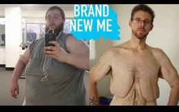 Chia tay người yêu, người đàn ông giảm thành công 155 kg