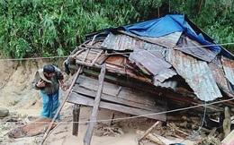 Quảng Ngãi: Lũ quét kinh hoàng cuốn trôi 6 nhà dân, khiến một ngôi làng có nguy cơ bị xóa sổ