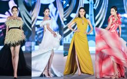 4 hoa hậu xuất hiện lộng lẫy, catwalk đỉnh cao
