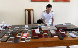 Nhân viên bảo vệ khách sạn lấy trộm 80 điện thoại di động