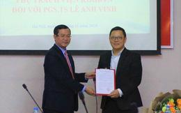 Phó giáo sư 37 tuổi được giao phụ trách Viện Khoa học Giáo dục Việt Nam