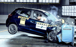 Giật mình với kết quả thử nghiệm an toàn của mẫu xe Hyundai Grand i10 Nios