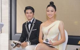 MC Vũ Mạnh Cường dẫn chung kết Hoa hậu Việt Nam 2020 cùng Lương Thùy Linh