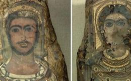 3 bức tượng dát vàng là xác người 2.000 năm phủ vữa