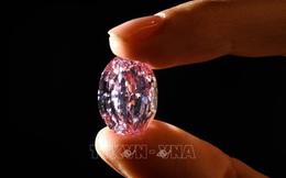 Viên kim cương hồng quý hiếm được bán với giá 26,6 triệu USD