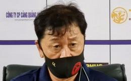 CHÍNH THỨC: HLV Chung Hae-seong chia tayCLB TPHCM