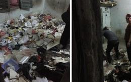 Thanh niên ở trọ 5 năm để lại bãi rác chật kín 10m2, chủ nhà bàng hoàng phải thuê đến 2 người dọn dẹp