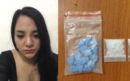 Thiếu nữ mang ma túy đi dạo phố Hà Nội bị tóm gọn