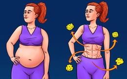Những điều bất ngờ về chất béo tiêu hao khi giảm cân: Áp dụng sớm để có cân nặng lý tưởng