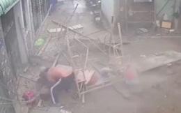 Sập giàn giáo công trình ở Sài Gòn, 3 người bị thương