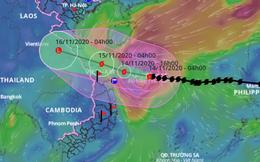 Bão số 13 giật cấp 17, mạnh tương đương bão số 9 đã gây gió mạnh nhất trong 20 năm qua