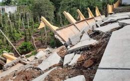 Công trình tiền tỉ tại trường học đổ sập do… mưa gió: Xử phạt 3 doanh nghiệp