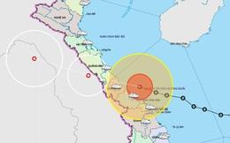 Bão số 13 giật cấp 12 đổ bộ vào Quảng Bình - Thừa Thiên Huế, nguy cơ xảy ra sạt lở đất