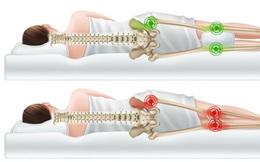 Khi ngủ, kẹp gối ở vị trí này vừa dễ ngủ vừa cực tốt cho sức khoẻ: Tốt nhất cho tuần hoàn máu