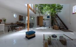 Huế: Căn nhà mới hoàn thiện 1/2, tận dụng gỗ thừa, vật liệu cũ bất ngờ được lên báo Mỹ