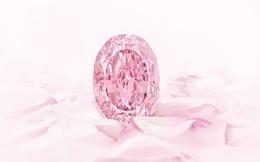 Viên kim cương hồng siêu hiếm có giá gần 27 triệu USD