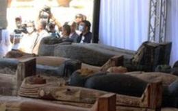 Ai Cập phát hiện thêm 100 quan tài còn nguyên vẹn, bên trong chứa xác ướp