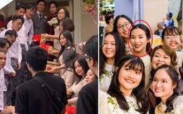 Không kém cạnh nhà trai với 7 cầu thủ cực phẩm, nhan sắc đội bê tráp nữ của Công Phượng - Viên Minh cũng gây chú ý