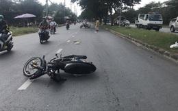 Công an thông tin vụ CSGT bị 2 thanh niên đi xe máy tông trọng thương khi làm nhiệm vụ