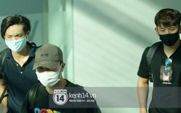 HOT: Xuân Trường, Tuấn Anh và Minh Vương đổ bộ sân bay Phú Quốc, đi ăn cưới Công Phượng mà ai cũng ngầu như sao hạng A