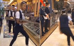 """Dân tình chóng mặt với cách phục vụ có 1-0-2: Nhân viên đi giày trượt đưa đồ ăn bằng tốc độ """"ánh sáng"""", coi mà chỉ sợ đổ!"""