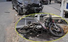 Tài xế Mercedes bị truy tố sau gần 1 năm tông chết tài xế GrabBike, khiến nữ tiếp viên hàng không thương tật 79%