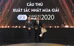Cầu thủ xuất sắc nhất V.League 2020 gọi tên Văn Quyết