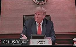 Tổng thống Trump lần đầu xuất hiện tại một hội nghị quốc tế sau Ngày Bầu cử