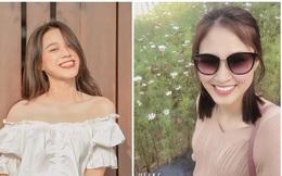 Tân Hoa hậu Đỗ Thị Hà còn có một chị gái, giản dị nhưng chiều cao và nụ cười xinh cũng không thua kém