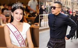 """Á hậu 2 Hoa hậu Việt Nam nói gì khi bị đồn là """"gà"""" Vũ Khắc Tiệp?"""