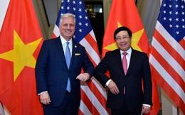 Quan hệ Việt-Mỹ phát triển mạnh mẽ chưa từng có