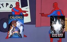 """Những pha """"mượn ý tưởng"""" cực khét của designer khiến poster 2 bộ phim vốn không liên quan lại giống nhau đến kỳ lạ"""