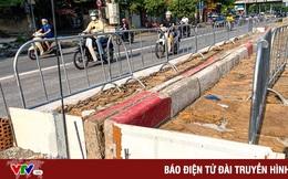 Lập rào chắn trong khoảng 7 tháng thi công hầm chui Lê Văn Lương