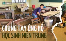 Gần 700 triệu đồng giúp hàng ngàn học sinh miền Trung có sách đi học sau lũ