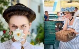 Thích ăn mặc như tiểu thư quý tộc từ thế kỷ 18, hot girl nổi rần rần trên Instagram với hơn 65 nghìn lượt theo dõi