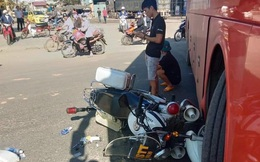 Công an TP Kon Tum nói gì vụ xe khách tông nhau với xe Cảnh sát trật tự?